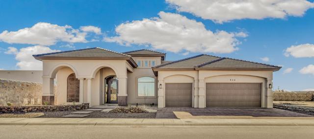 955 Tramonto Vista Court, El Paso, TX 79932 (MLS #802274) :: The Matt Rice Group