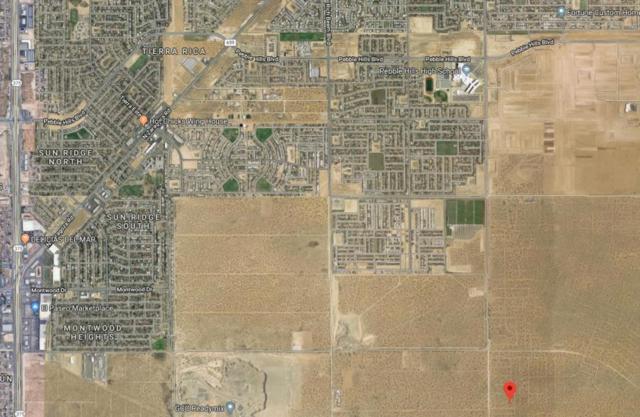 5 Horizon City Estates #60 Lot 3, El Paso, TX 79938 (MLS #806039) :: The Purple House Real Estate Group