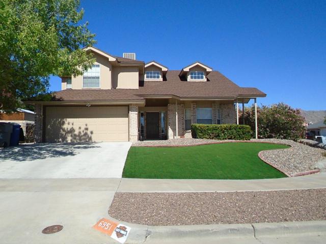 6951 Marble Canyon Drive, El Paso, TX 79912 (MLS #809156) :: The Matt Rice Group