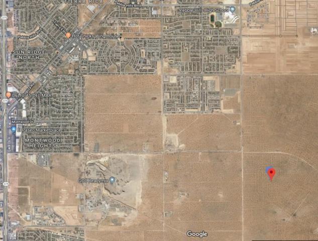 22 Horizon City Estates #60 Lot14, El Paso, TX 79938 (MLS #812000) :: The Purple House Real Estate Group