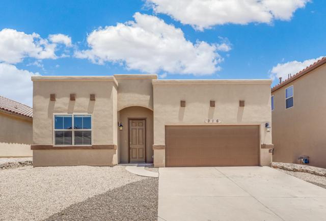 316 Covington Ridge Way Way, El Paso, TX 79928 (MLS #812459) :: The Purple House Real Estate Group