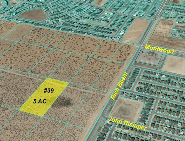 9901 Rich Beem, El Paso, TX 79928 (MLS #812764) :: Preferred Closing Specialists