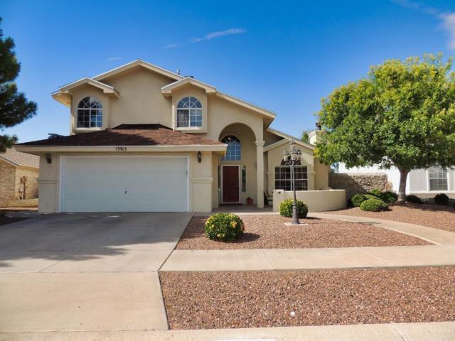 13913 Blooming Desert Drive, Horizon City, TX 79928 (MLS #813754) :: The Purple House Real Estate Group