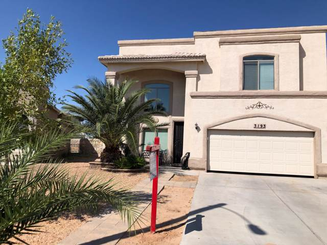 3193 Diego Aidan Drive, El Paso, TX 79938 (MLS #815418) :: Preferred Closing Specialists