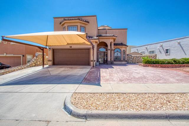 12560 Gilded Sun Drive, El Paso, TX 79938 (MLS #815545) :: The Purple House Real Estate Group