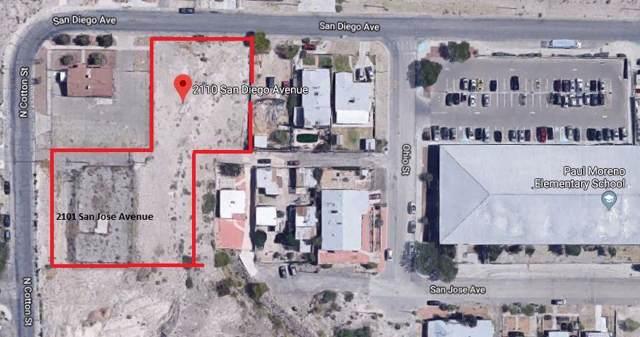 2101&2110 San Jose And San Diego, El Paso, TX 79930 (MLS #815551) :: The Matt Rice Group
