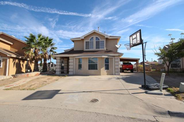 12195 Saint Lucia Drive, El Paso, TX 79936 (MLS #815705) :: Preferred Closing Specialists