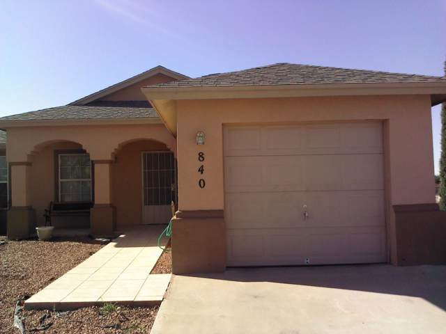 840 Frank Place, Canutillo, TX 79835 (MLS #815731) :: Preferred Closing Specialists