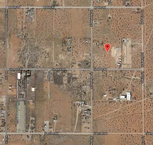 14725 Simpson Road, El Paso, TX 79938 (MLS #815750) :: The Matt Rice Group
