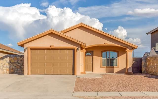 4008 Tierra Venado Drive, El Paso, TX 79938 (MLS #815803) :: The Purple House Real Estate Group