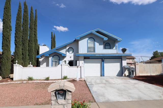 11548 James Grant Drive, El Paso, TX 79936 (MLS #815884) :: The Purple House Real Estate Group