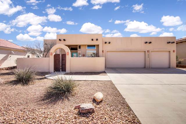 533 Via De Los Arboles, El Paso, TX 79932 (MLS #816046) :: The Matt Rice Group