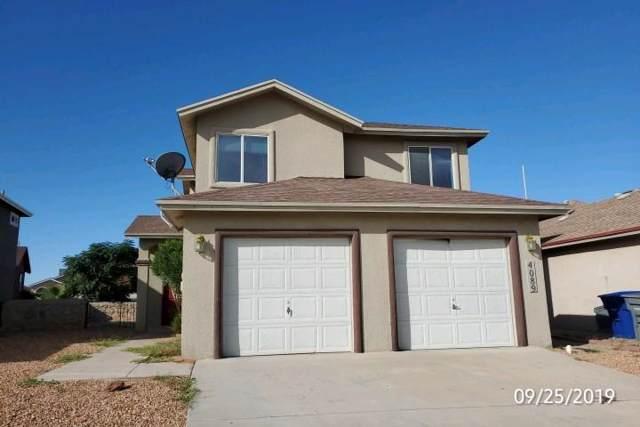4089 Tierra Patino Lane, El Paso, TX 79938 (MLS #816126) :: Preferred Closing Specialists