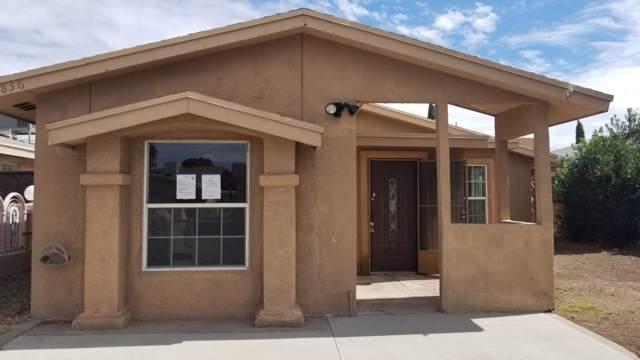 5836 Sandpiper Drive, Santa Teresa, NM 88008 (MLS #816575) :: The Purple House Real Estate Group