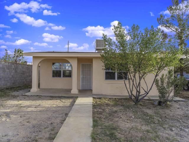 1210 Zinn Road, Canutillo, TX 79835 (MLS #816636) :: Preferred Closing Specialists