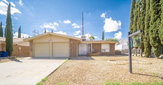 3513 Red Sails Drive, El Paso, TX 79936 (MLS #816700) :: The Matt Rice Group