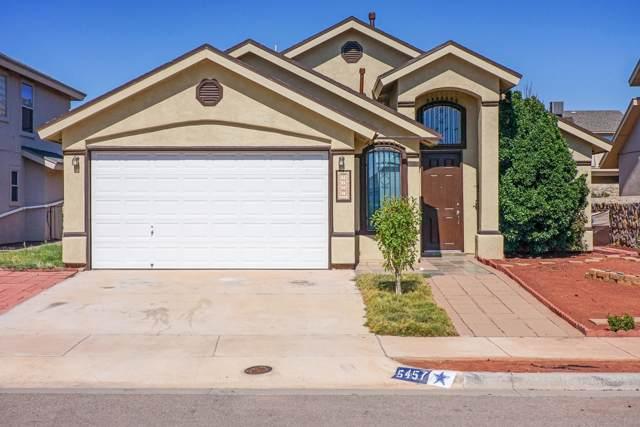 5457 Santiago Roque Drive, El Paso, TX 79934 (MLS #816761) :: Preferred Closing Specialists