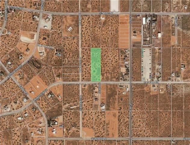 14425 Van Fleet Road, El Paso, TX 79938 (MLS #817068) :: The Matt Rice Group