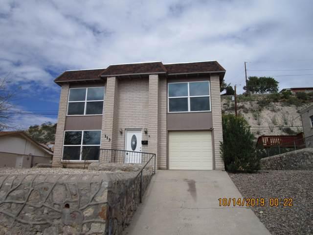 113 Fountain Road, El Paso, TX 79912 (MLS #817094) :: Preferred Closing Specialists