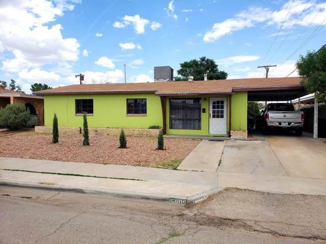 5909 Sabine Court, El Paso, TX 79905 (MLS #817144) :: Preferred Closing Specialists
