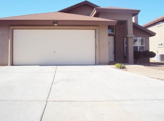 1471 Lanza Del Sol, El Paso, TX 79911 (MLS #817198) :: Jackie Stevens Real Estate Group