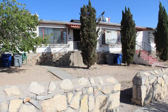 223 W California Avenue, El Paso, TX 79902 (MLS #817223) :: Preferred Closing Specialists