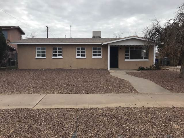5040 Knox Drive, El Paso, TX 79904 (MLS #817231) :: Preferred Closing Specialists