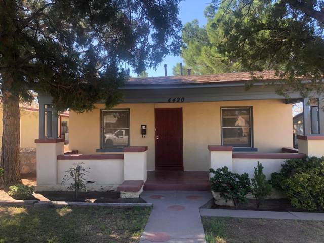 4420 La Luz Avenue, El Paso, TX 79903 (MLS #817237) :: Preferred Closing Specialists
