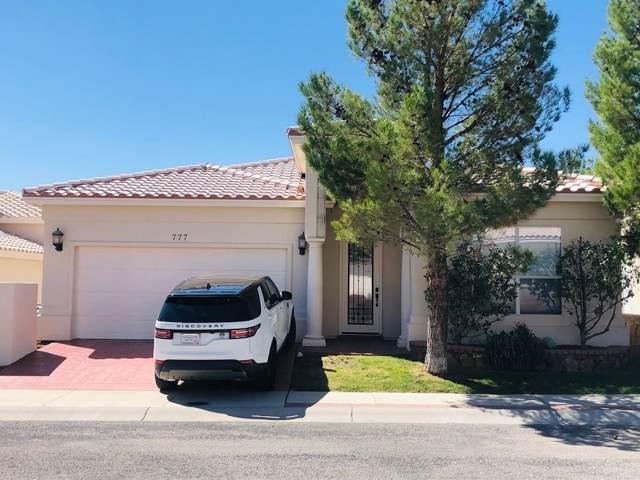 777 Via Cipro Street, El Paso, TX 79912 (MLS #817254) :: Preferred Closing Specialists
