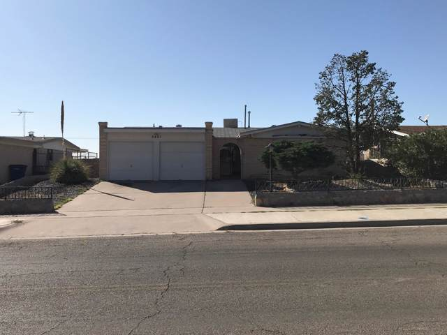 5421 Carousel Drive, El Paso, TX 79912 (MLS #817354) :: The Matt Rice Group