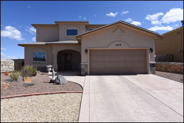 1648 Rock Dove Lane, El Paso, TX 79911 (MLS #817371) :: Preferred Closing Specialists