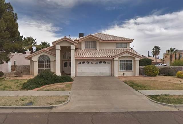 1950 Paseo Del Prado Place, El Paso, TX 79936 (MLS #817558) :: The Matt Rice Group