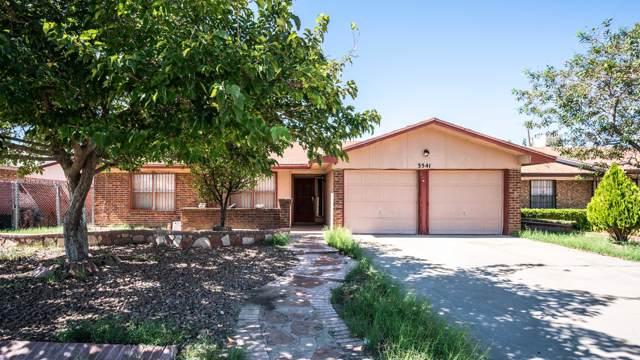 3541 Breckenridge Drive, El Paso, TX 79936 (MLS #817594) :: Preferred Closing Specialists