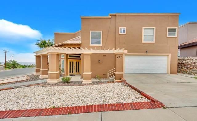 401 Mesilla Vista Lane, El Paso, TX 79912 (MLS #817702) :: Preferred Closing Specialists