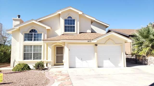 1413 Kokopelli Way, El Paso, TX 79912 (MLS #817934) :: Preferred Closing Specialists