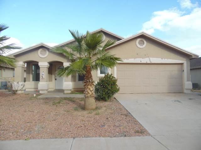 706 Villas Del Valle Road, Socorro, TX 79927 (MLS #819252) :: The Purple House Real Estate Group