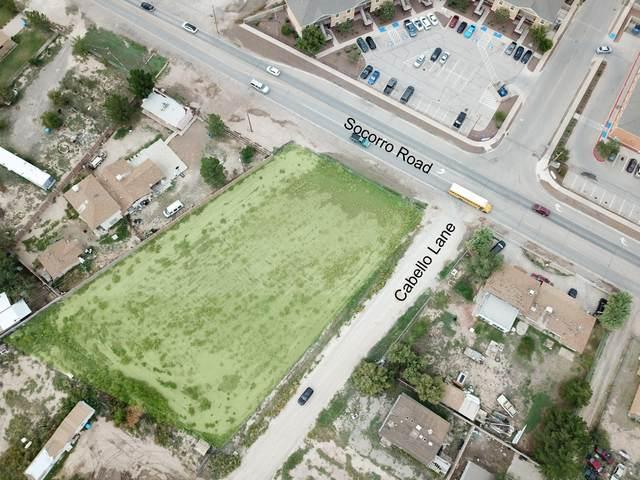 TBD Cabello Lane, San Elizario, TX 79849 (MLS #819283) :: Preferred Closing Specialists