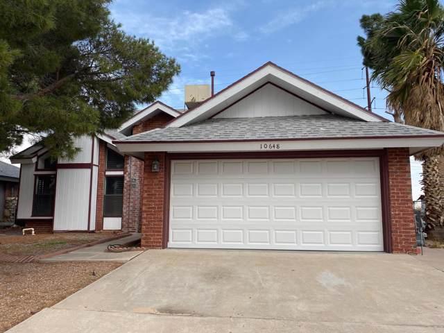 10648 Pleasant Hill Drive, El Paso, TX 79924 (MLS #819325) :: The Matt Rice Group