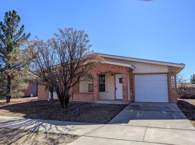 14496 Cabana Drive, Horizon City, TX 79928 (MLS #820608) :: The Purple House Real Estate Group