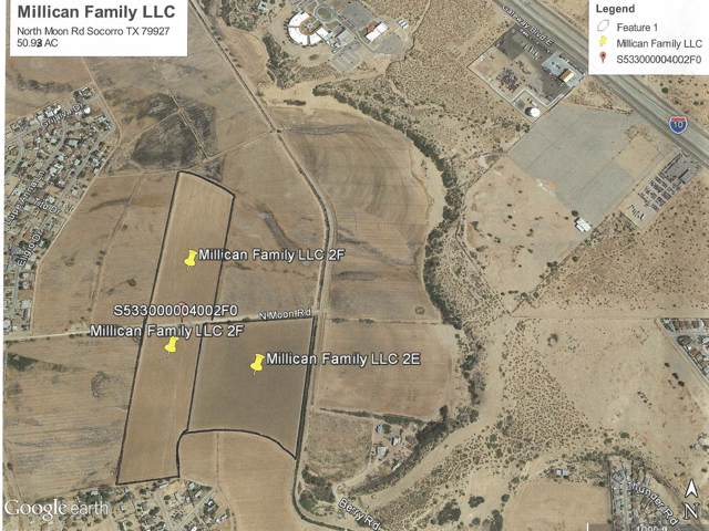 0 N Moon Road, Socorro, TX 79927 (MLS #821273) :: The Purple House Real Estate Group