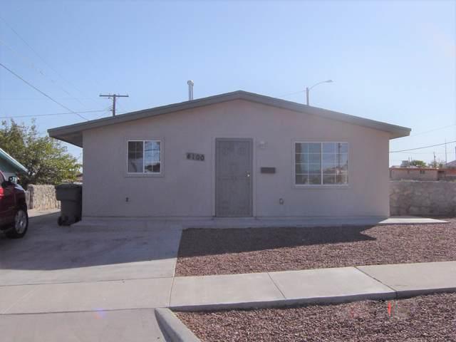 4100 Sunrise Avenue, El Paso, TX 79904 (MLS #821401) :: Preferred Closing Specialists