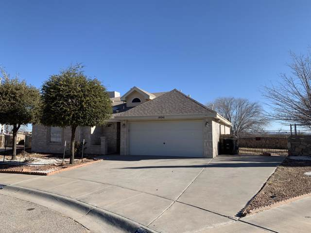 14041 Desert Wildflower Place, Horizon City, TX 79928 (MLS #821438) :: The Purple House Real Estate Group