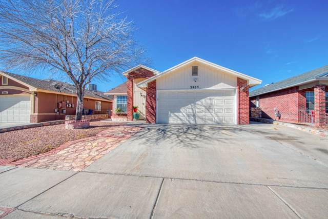 3405 Yellow Rose Street, El Paso, TX 79936 (MLS #821775) :: Preferred Closing Specialists