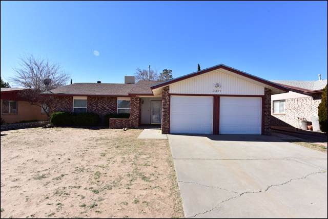 3321 Beachcomber Drive, El Paso, TX 79936 (MLS #821957) :: Jackie Stevens Real Estate Group brokered by eXp Realty