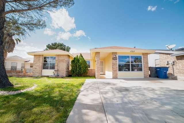 1707 Bogart Place, El Paso, TX 79936 (MLS #822549) :: Preferred Closing Specialists