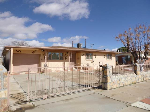 5013 Rutherford Drive, El Paso, TX 79924 (MLS #822724) :: Preferred Closing Specialists