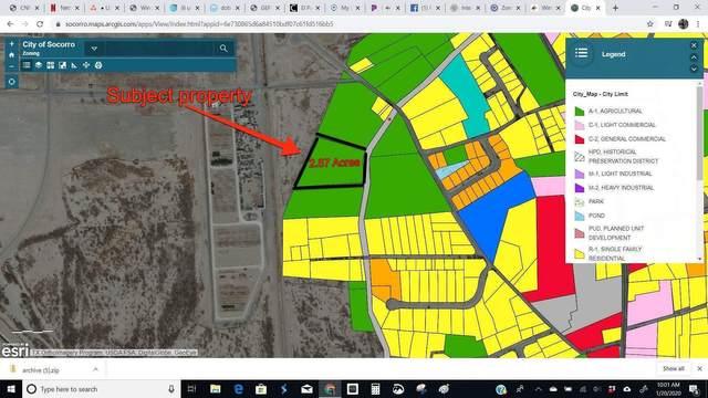 00 Apodaca Road, Socorro, TX 79927 (MLS #822973) :: The Purple House Real Estate Group
