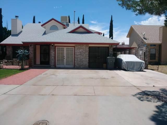 11449 David Carrasco Drive, El Paso, TX 79936 (MLS #823162) :: Preferred Closing Specialists