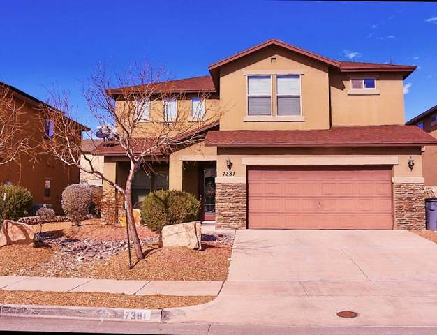 7381 Black Sage Drive, El Paso, TX 79911 (MLS #823334) :: The Matt Rice Group