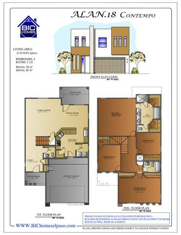 7805 Enchanted View Drive, El Paso, TX 79911 (MLS #823508) :: The Purple House Real Estate Group